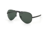 Ray-Ban Aviator Carbon RB 8307 002/n5, Aviator Sonnenbrillen,