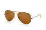 Ray-Ban Aviator RB 3025 177/33 large, Aviator Sonnenbrillen, Goldfarben